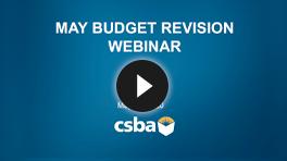 May Budget Revision Webinar