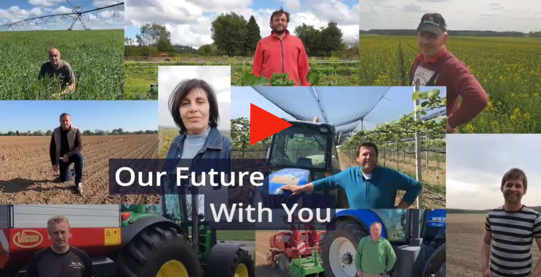 Watch the movie 'Agriculture does not stop'