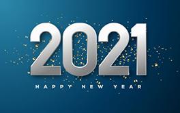 Happy 2021 image