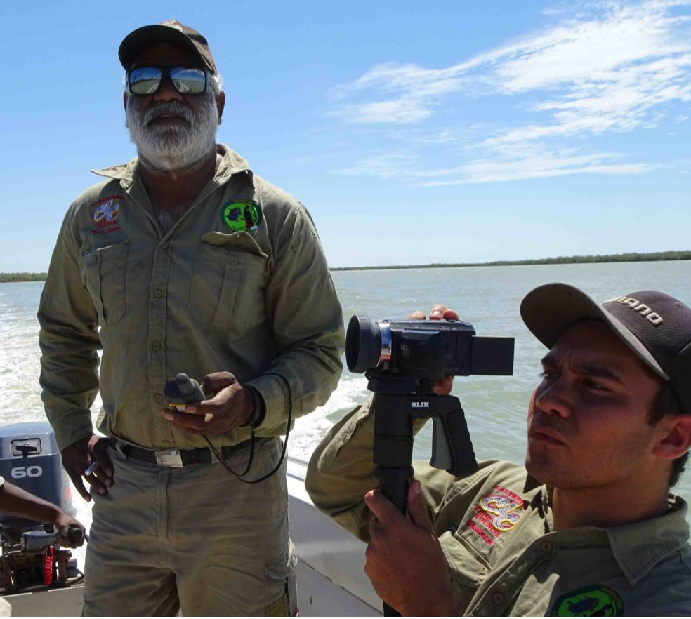 Carpentaria Land Council Aboriginal Corporation Rangers Watching on the Norman River