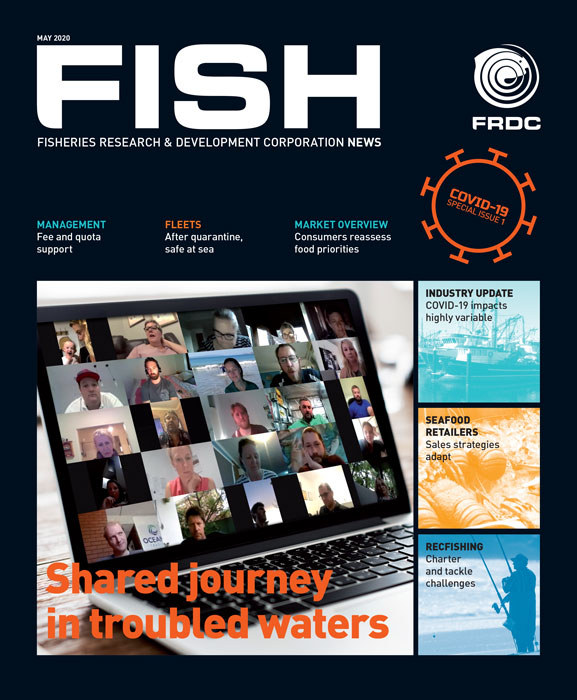 Fish Magazine Cover