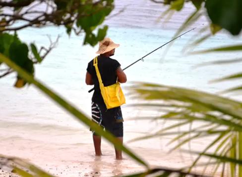 Photo of Indigenous fishing
