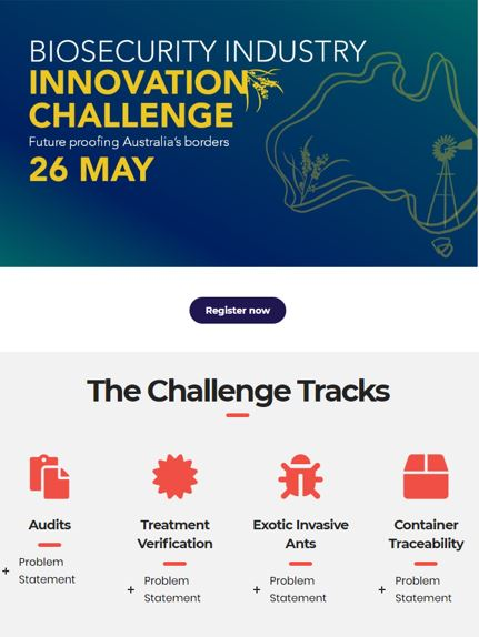 Biosecurity Industry Innovation Challenge