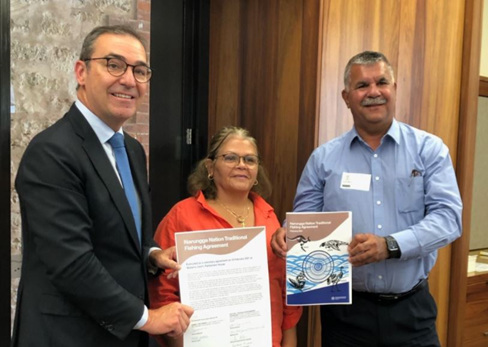 Photo of Traditional Fishing Agreement has been signed between the Narungga Nation