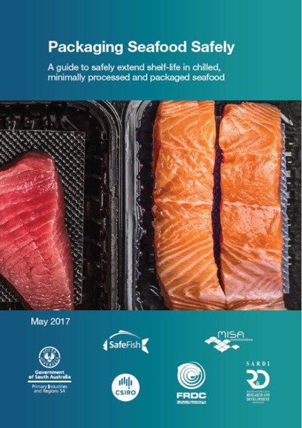 Packaging seafood safety poster