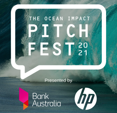 Logo for Ocean Impact Pitchfest 2021
