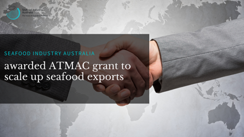 Photo of Seafood Industry Association grant for seafood exports
