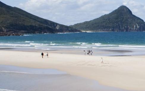 Photo of beach and ocean