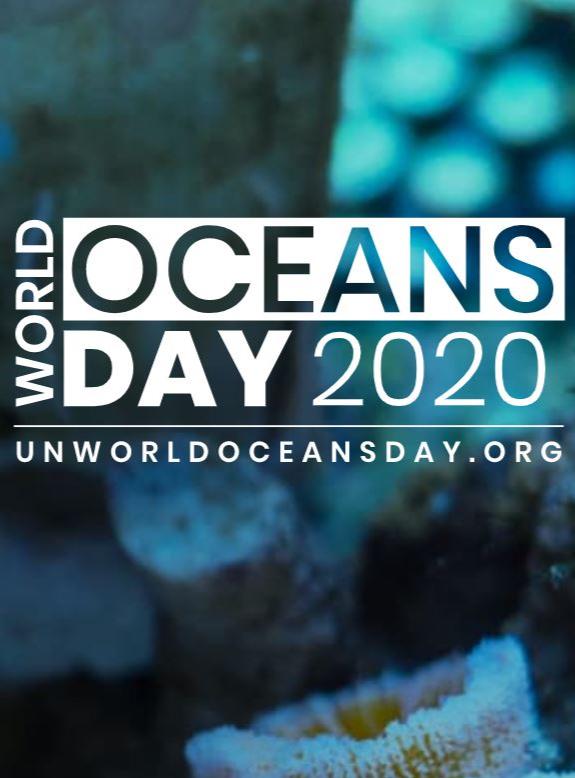 World Oceans Day 2020 logo