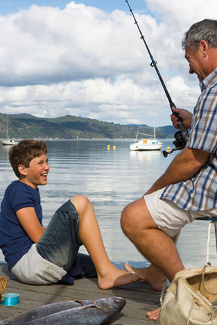 Photo of recreational fishers