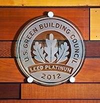 USGBC plaque