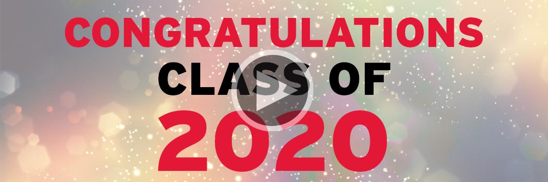 CongratulationsClass of 2020!
